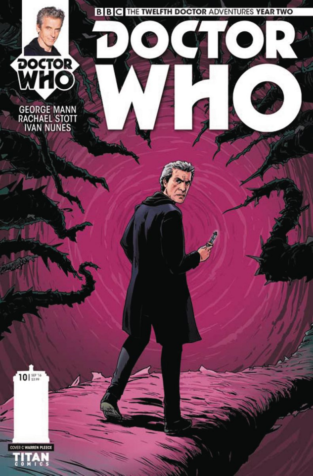 Doctor Who: New Adventures with the Twelfth Doctor, Year Two #10 (Pleece Cover)