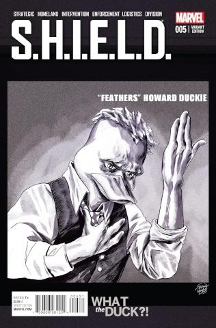 S.H.I.E.L.D. #5 (WTD Cover)