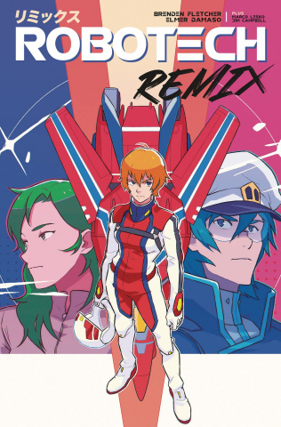 Robotech: Remix #3 (Karreon Cover)