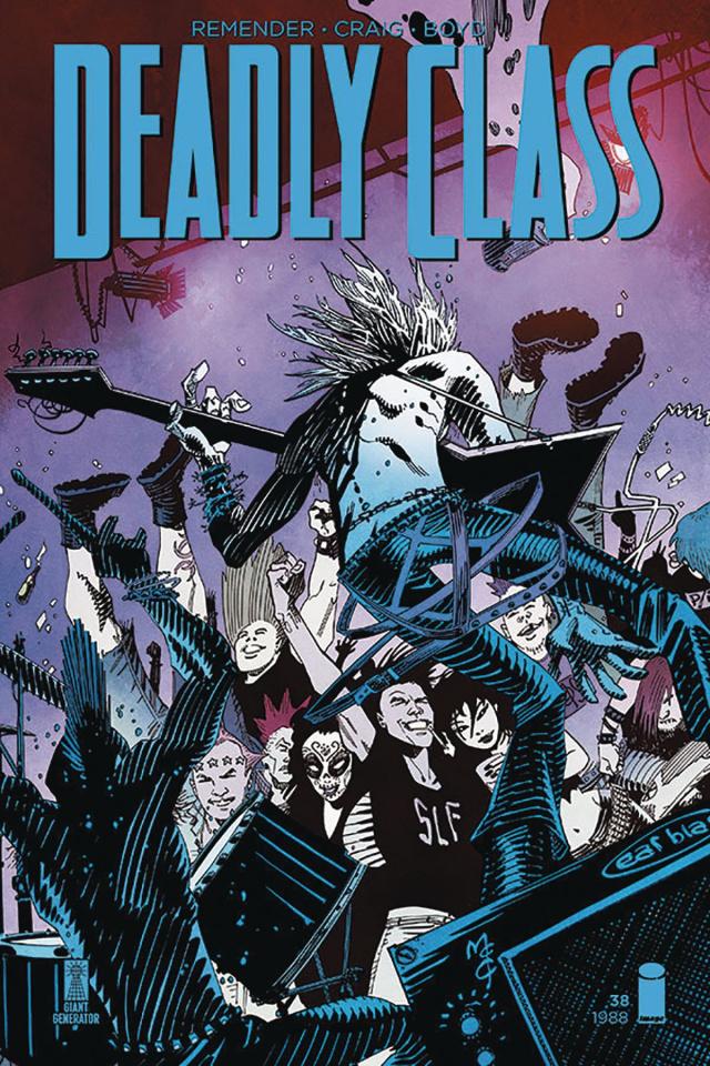 Deadly Class #38 (McCrea Cover)