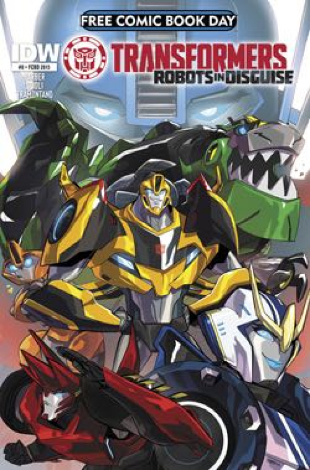 The Transformers: Robots in Disguise #0