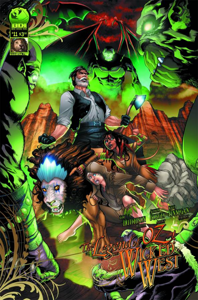 The Legend of Oz: The Wicked West #11