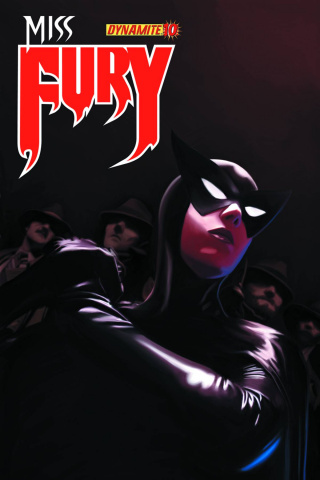 Miss Fury #10 (Worley Cover)