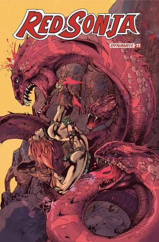 Red Sonja #22 (Castro Bonus Cover)