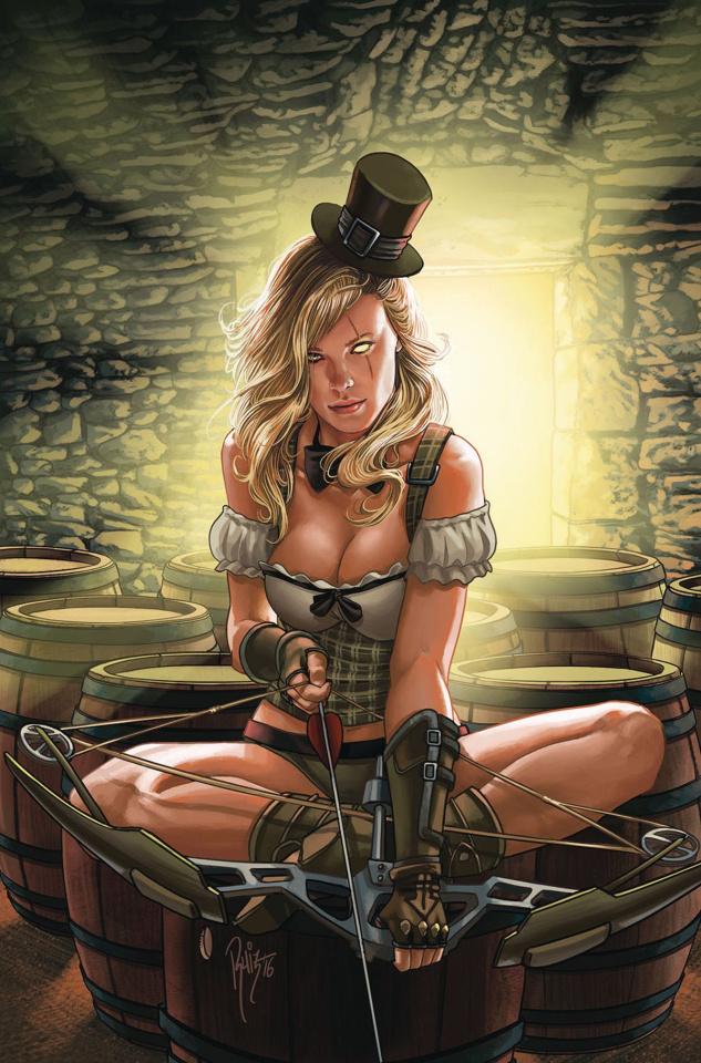 Grimm Fairy Tales: Robyn Hood - I Love NY #10 (Ruiz Cover)