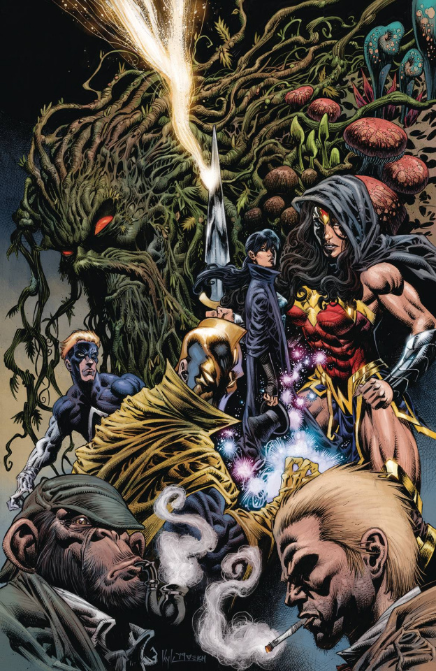 Justice League Dark #23 (Kyle Hotz Cover)