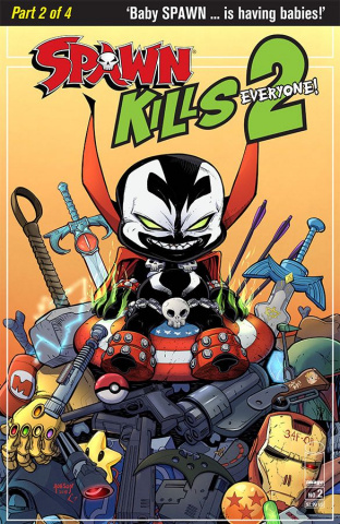 Spawn Kills Everyone Too! #2 (McFarlane Cover)
