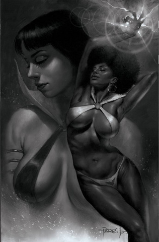 Sacred Six #11 (40 Copy Parrillo B&W Virgin Cover)