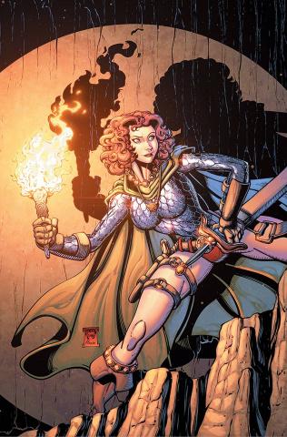 Red Sonja #25 (10 Copy Robson Virgin Cover)