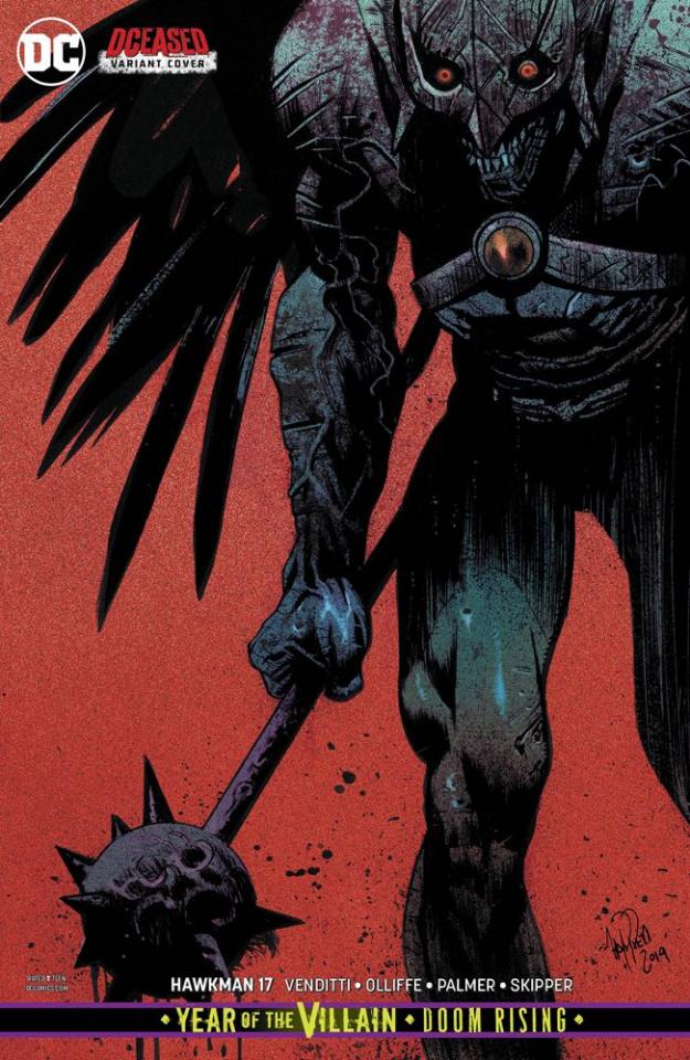 Hawkman #17 (Year of the Villain)