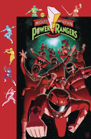 Mighty Morphin' Power Rangers #31 (Subscription Gibson Cover)