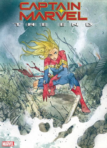 Captain Marvel: The End #1 (Momoko Cover)
