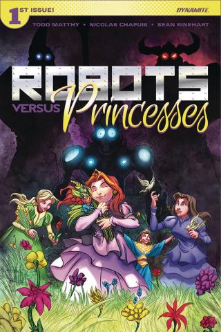 Robots vs. Princesses #1 (Chapuis Cover)