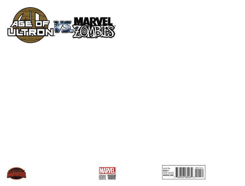 Age of Ultron vs. Marvel Zombies #1 (Blank Cover)