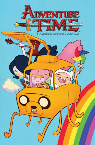 Adventure Time #67 (Subscriptions Galloway Cover)