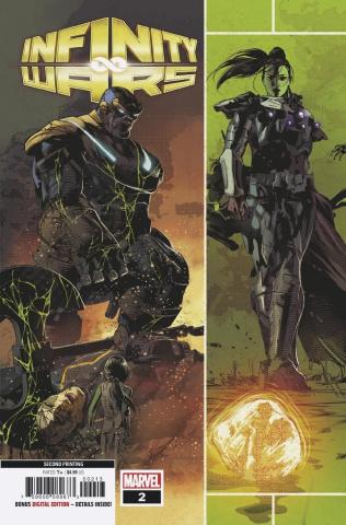 Infinity Wars #2 (Deodato 3rd Printing)