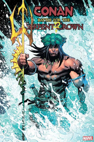 Conan: Battle for the Serpent Crown #4 (Petrovich Cover)