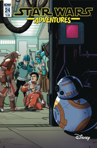 Star Wars Adventures #24 (Levens Cover)