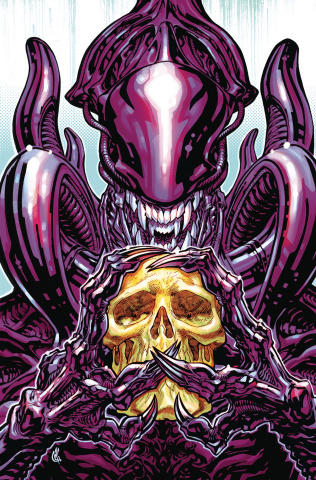 Aliens: Dust to Dust #4 (D'Anda Cover)