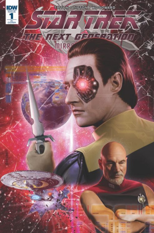 Star Trek: The Next Generation - Mirror Broken #1 (10 Copy Cover)