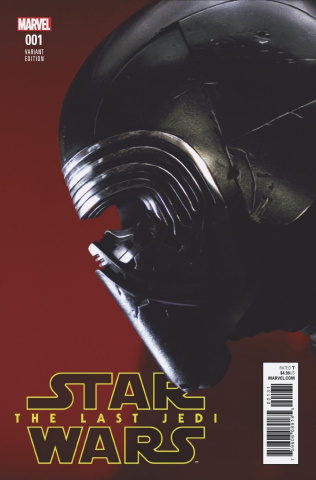 Star Wars: The Last Jedi #1 (Movie Cover)