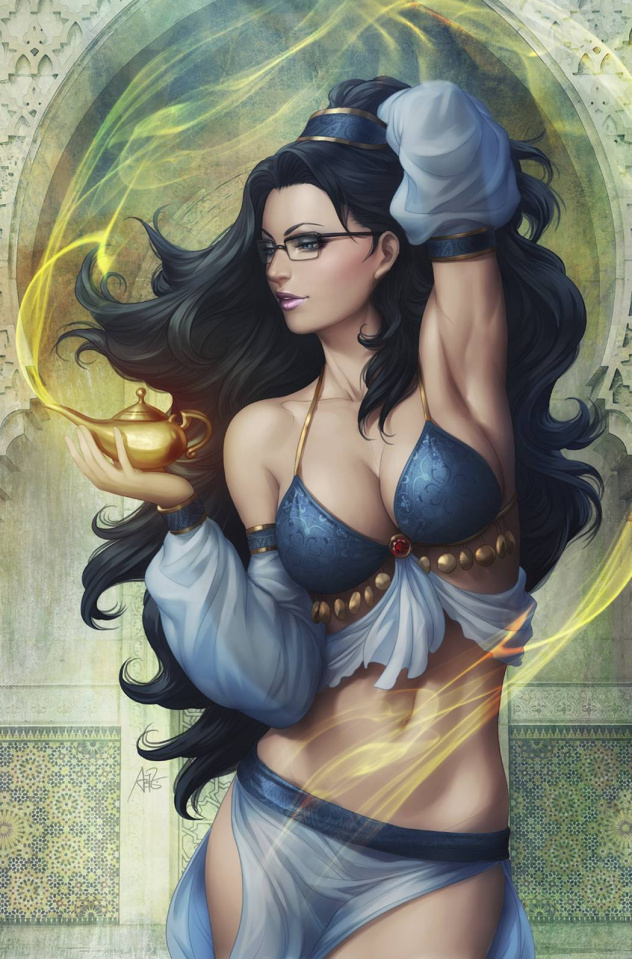 Grimm Fairy Tales #101 (Artgerm Cover)