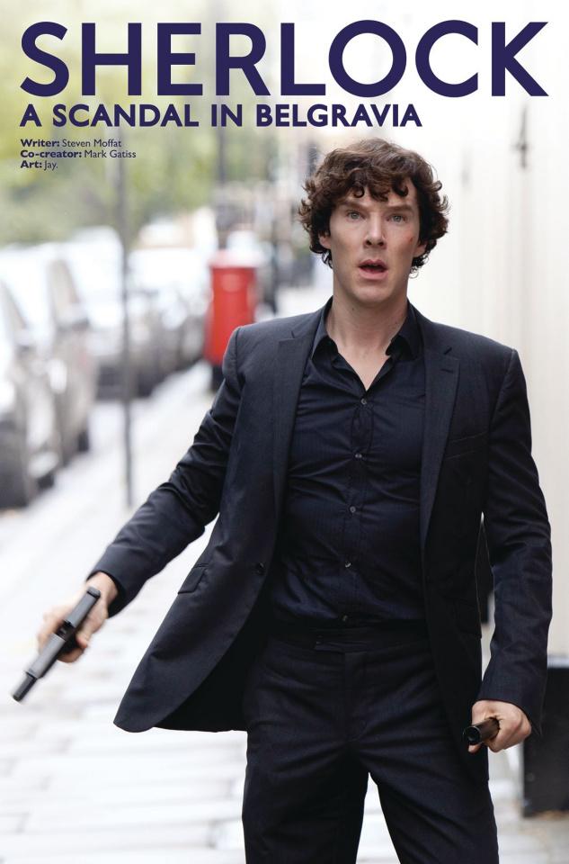 Sherlock: A Scandal in Belgravia #2 (Photo Cover)