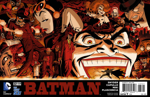 Batman #37 (Darwyn Cooke Cover)