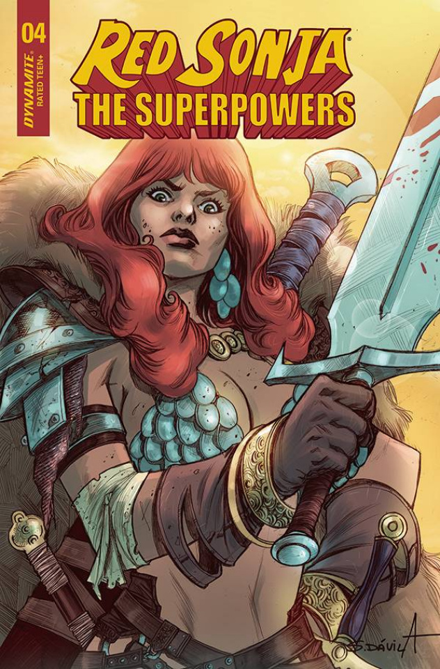 Red Sonja: The Superpowers #4 (Davila Cover)