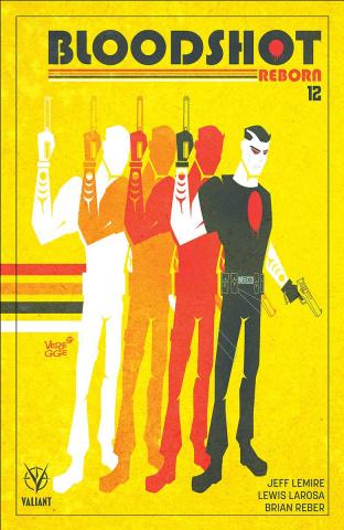 Bloodshot: Reborn #12 (Veregge Cover)