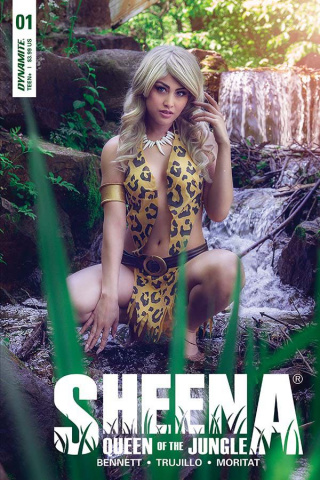 Sheena #1 (Cosplay Cover)