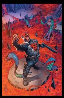 Death Force #6 (Richardson Cover)