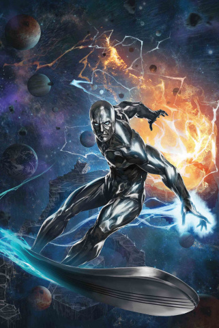 The Defenders: The Silver Surfer #1 (Skan Cover)