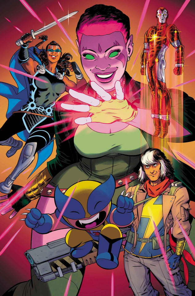 Exiles #1 (Rodriguez Cover)