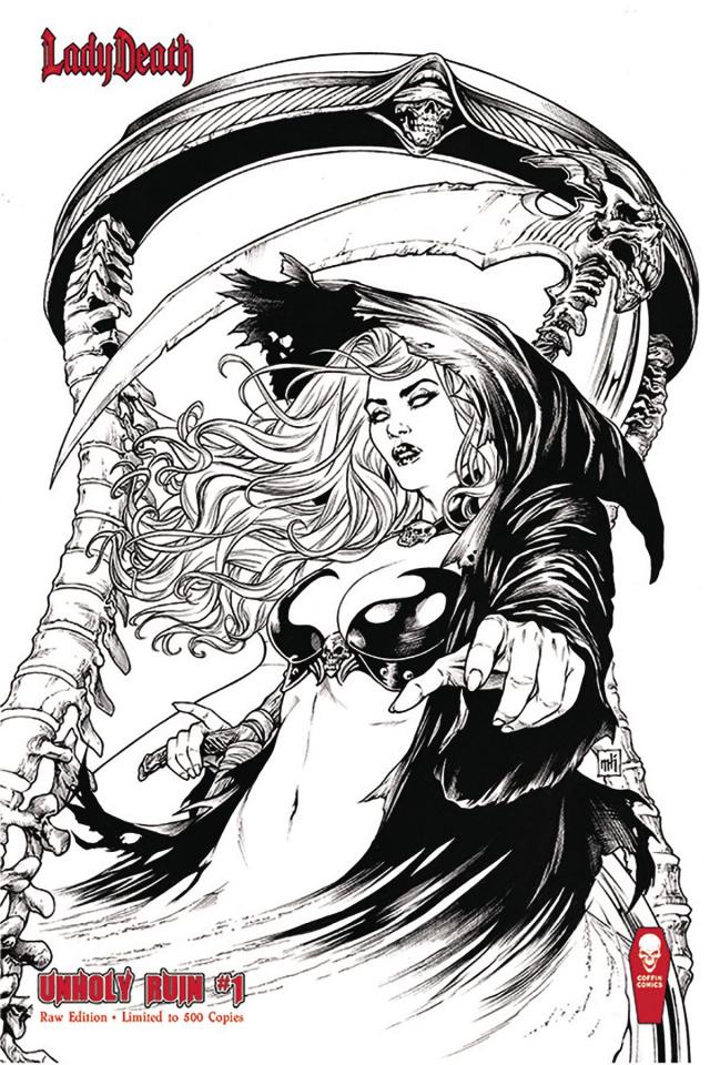 Lady Death: Unholy Ruin #1 (Raw Edition)