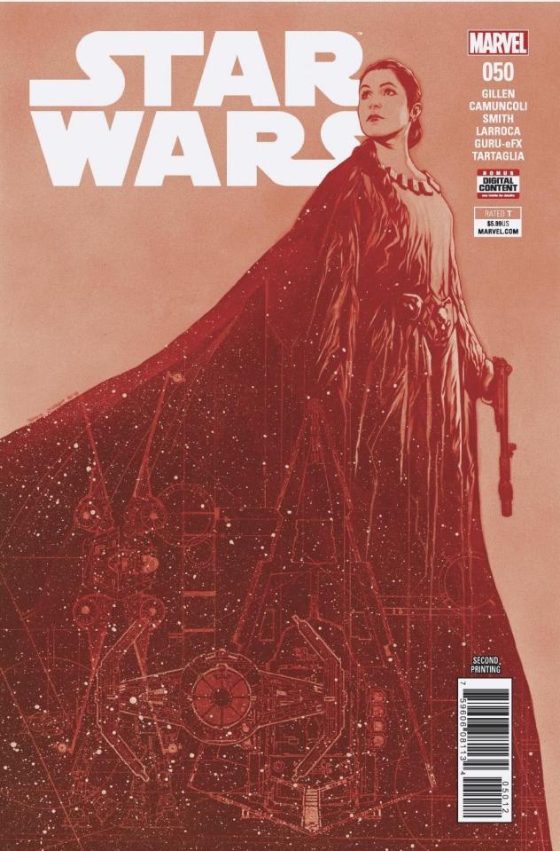 Star Wars #50 (Charest 2nd Printing)