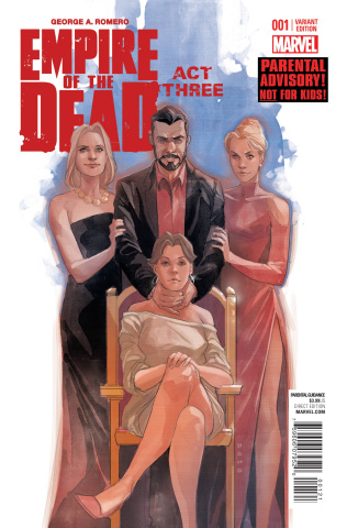 Empire of the Dead: Act Three #1 (Noto Cover)