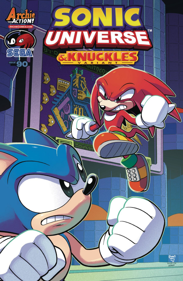Sonic Universe #90 (Stanley Cover)