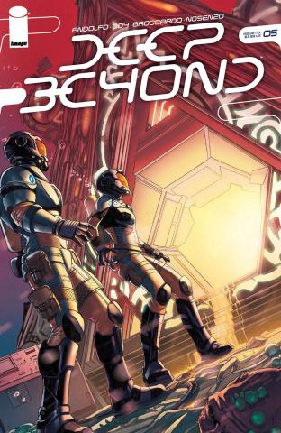 Deep Beyond #5 (Broccardo Cover)