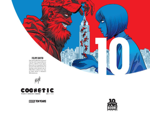Cognetic #1 (10 Years Stelfreeze Cover)