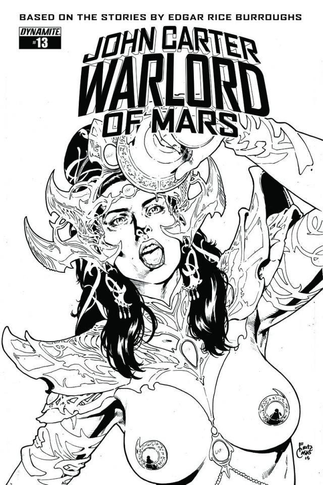 John Carter: Warlord of Mars #13 (10 Copy Casas Cover)