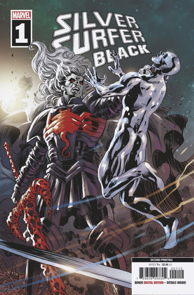 Silver Surfer: Black #1 (Deodato Spoiler 2nd Printing)