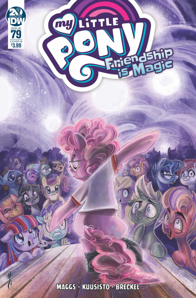 My Little Pony: Friendship Is Magic #79 (Richard Cover)