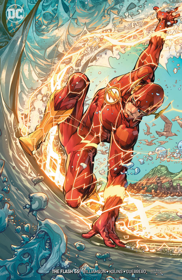 The Flash #55 (Variant Cover)