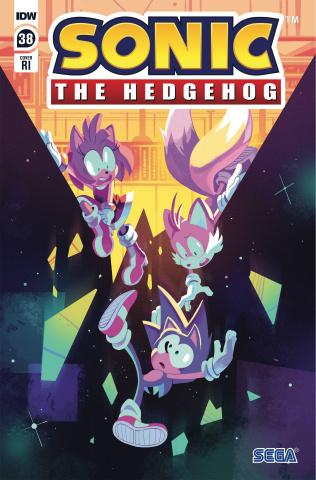Sonic the Hedgehog #38 (10 Copy Fourdraine Cover)