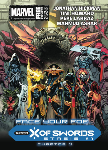 Marvel Previews #4: October 2020 Extras
