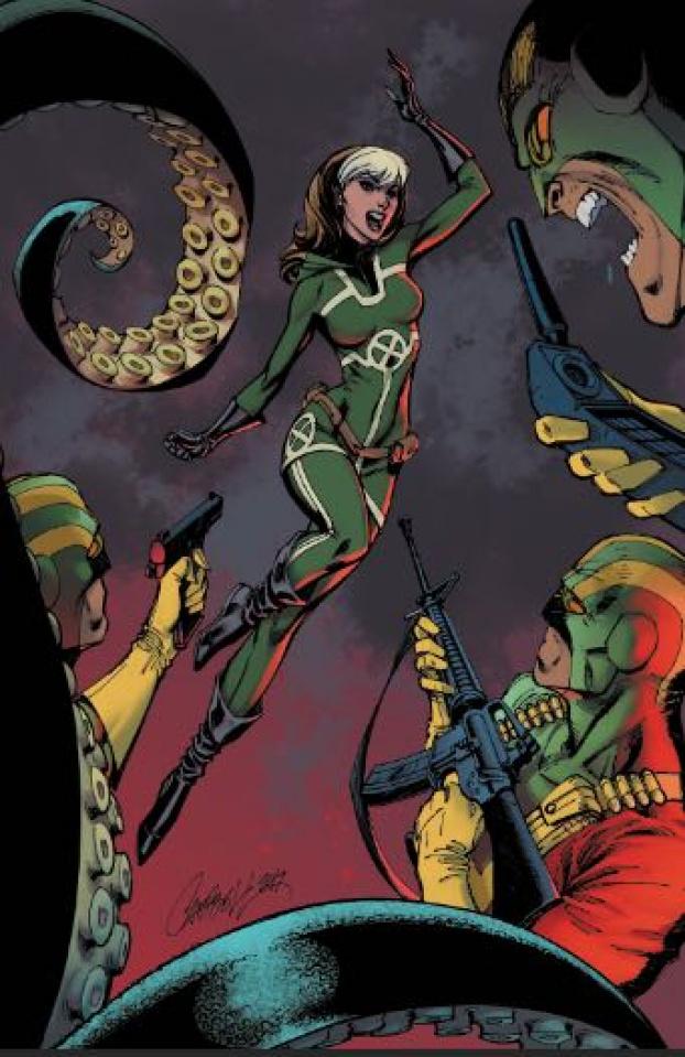 Secret Empire #3 (J.S. Campbell Cover)