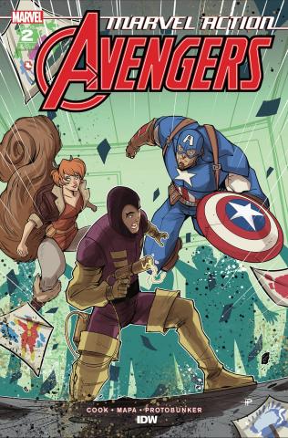 Marvel Action: Avengers #2 (10 Copy Medri Cover)
