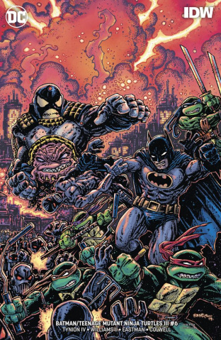 Batman / Teenage Mutant Ninja Turtles III #6 (Variant Cover)