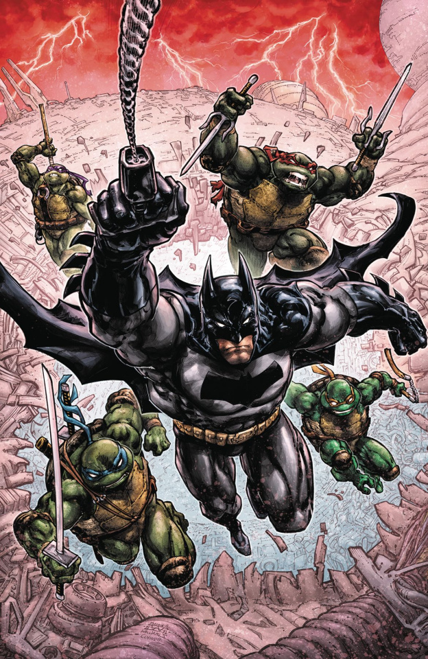 Batman / Teenage Mutant Ninja Turtles III #1
